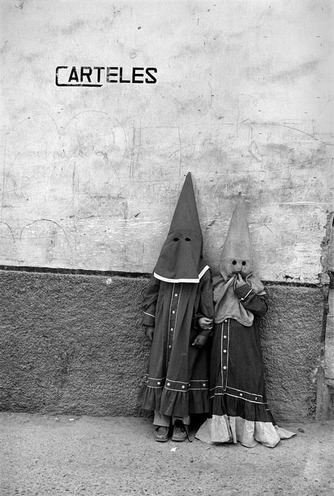 Cristina Garcia Rodero - Spain. Murcia. Moratalla. Holy week. 1980. … via Magnum Photos … (Such adorable little children!)
