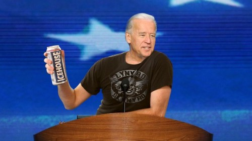brooklynmutt:  Biden Says Life Better Than It Was 4 Years Ago But Nothing Can Touch Summer Of '87 (The Onion)  FOUR MORE BEERS!