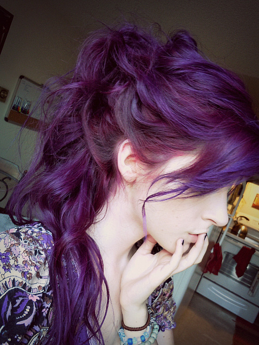 -onyourknees:  k here's a better picture of the purple c: so Beautiful ^___^
