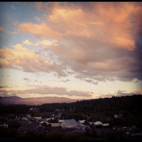 I think I'm going to get used to this #truckee  (Taken with Instagram)