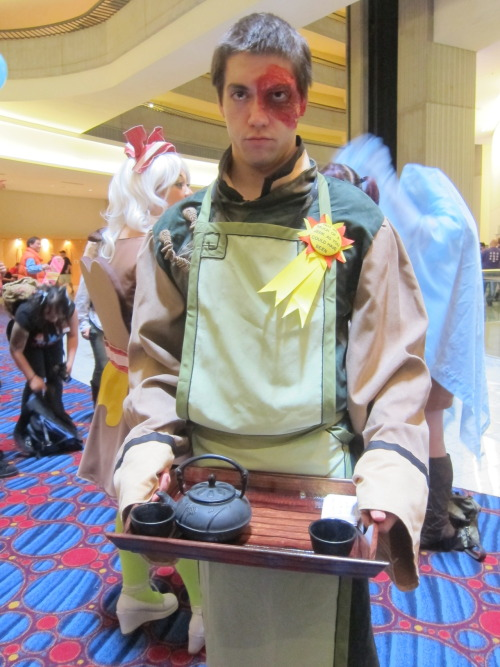 scotchtrooper:  the-senator:  Cadet's Amazing Zuko. His badge still makes me giggle.  The best! Hat, Cadet!