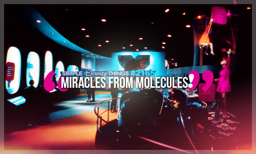 Miracles from molecules are dawning every day, discoveries for happiness in a fabulous array!