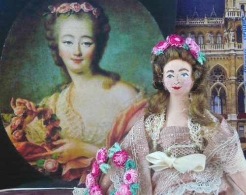 Etsy: Madame du Barry doll by UneekDollDesigns
