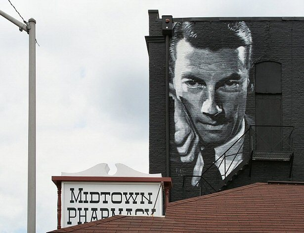 Stardust Original Post Date: NOVEMBER 17, 2009 Mural of Hoagy Carmichael in downtown Richmond, Indiana Richmond, Indiana was a jazz town. © Dania Hurley, All Rights Reserved