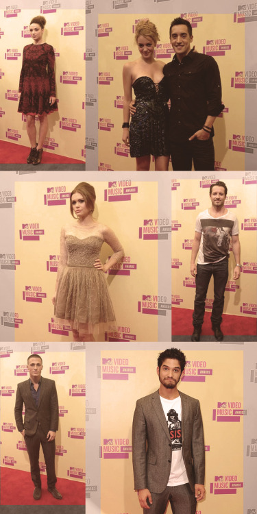 { Teen Wolf Cast @ The VMAs }