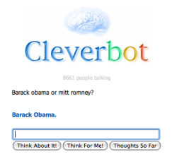 Cleverbot knows where it's at.