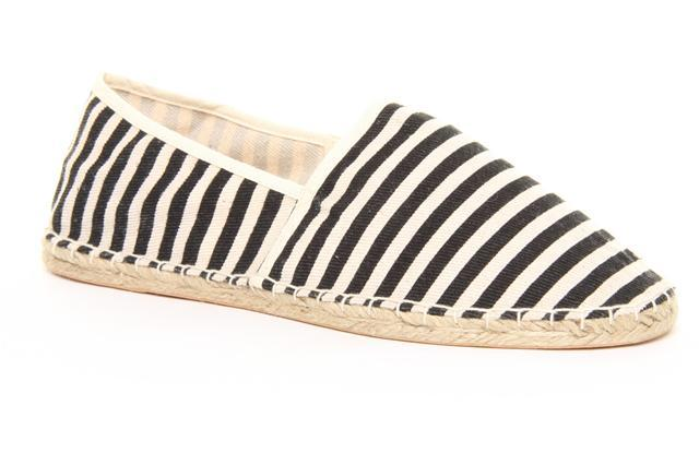 Stripped espadrilles. Available here.