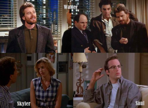 breakingbadworld:  Breaking Bad: The Seinfeld Connection