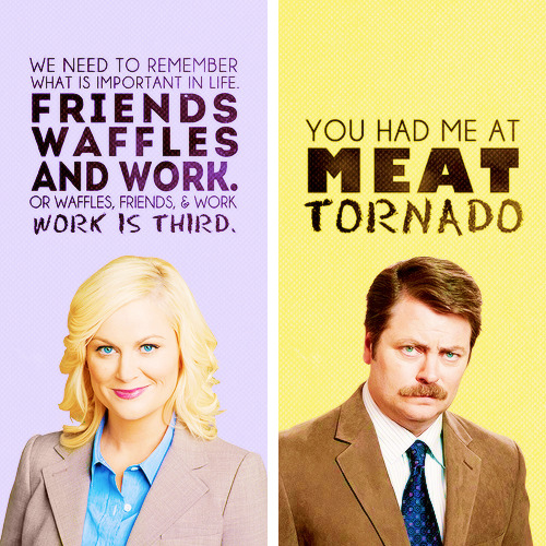 Favourite characters > Parks and Recreation edition