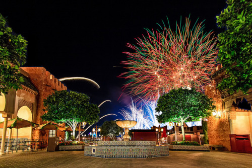 Morocco Fireworks by Katie Marino on Flickr.