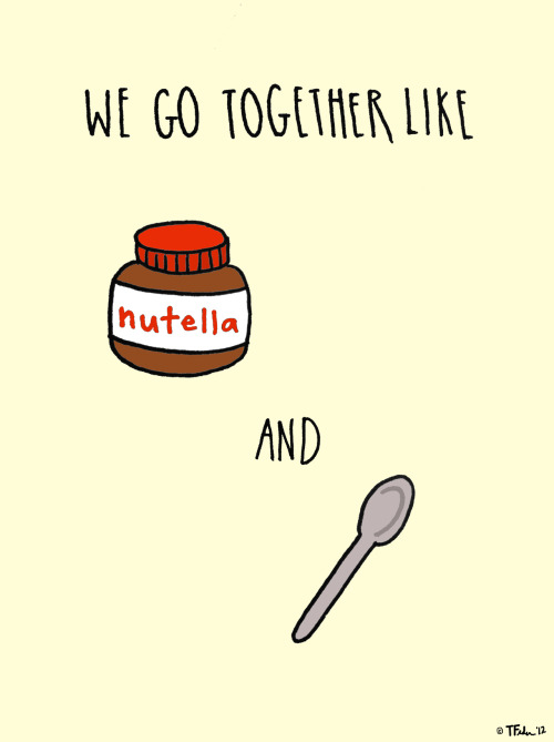 Nutella and Spoons (by Tyler Feder)