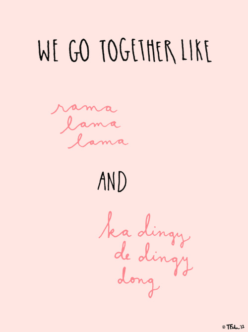 We Go Together (by Tyler Feder)