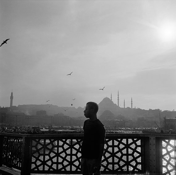 James Baldwin in Istanbul by Sedat Pakay