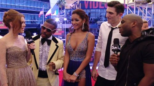 Guy Code crew reppin MTV2 at the VMA's