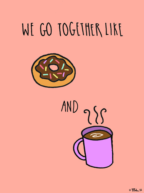 Coffee and Donuts (by Tyler Feder)