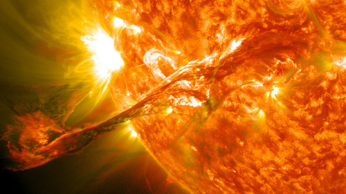 Magnificent CME Erupts on the Sun - August 31 by NASA Goddard Photo and Video on Flickr.
