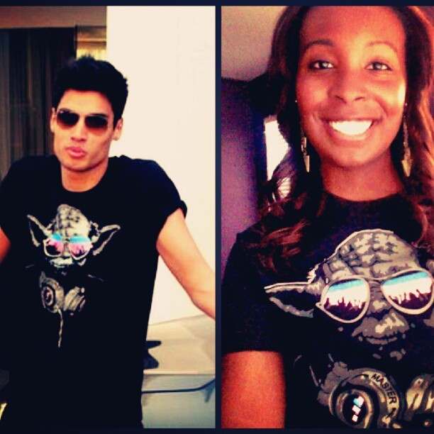 I came across this picture of Siva wearing the same awesome shirt that I ordered #Fate #mylifeiscomplete #SivatheWanted #TheWanted #djYoda #starwars  (Taken with Instagram)