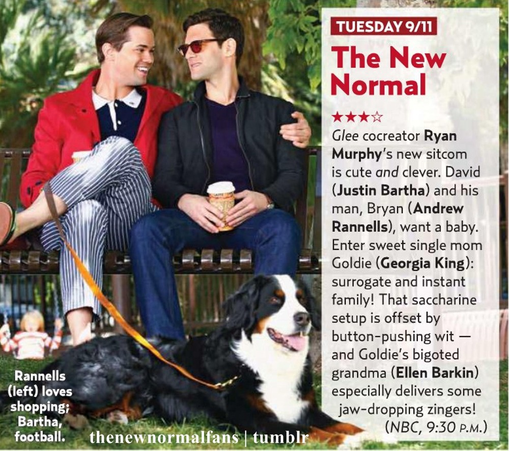 'The New Normal' in the September 17 issue of US Weekly.