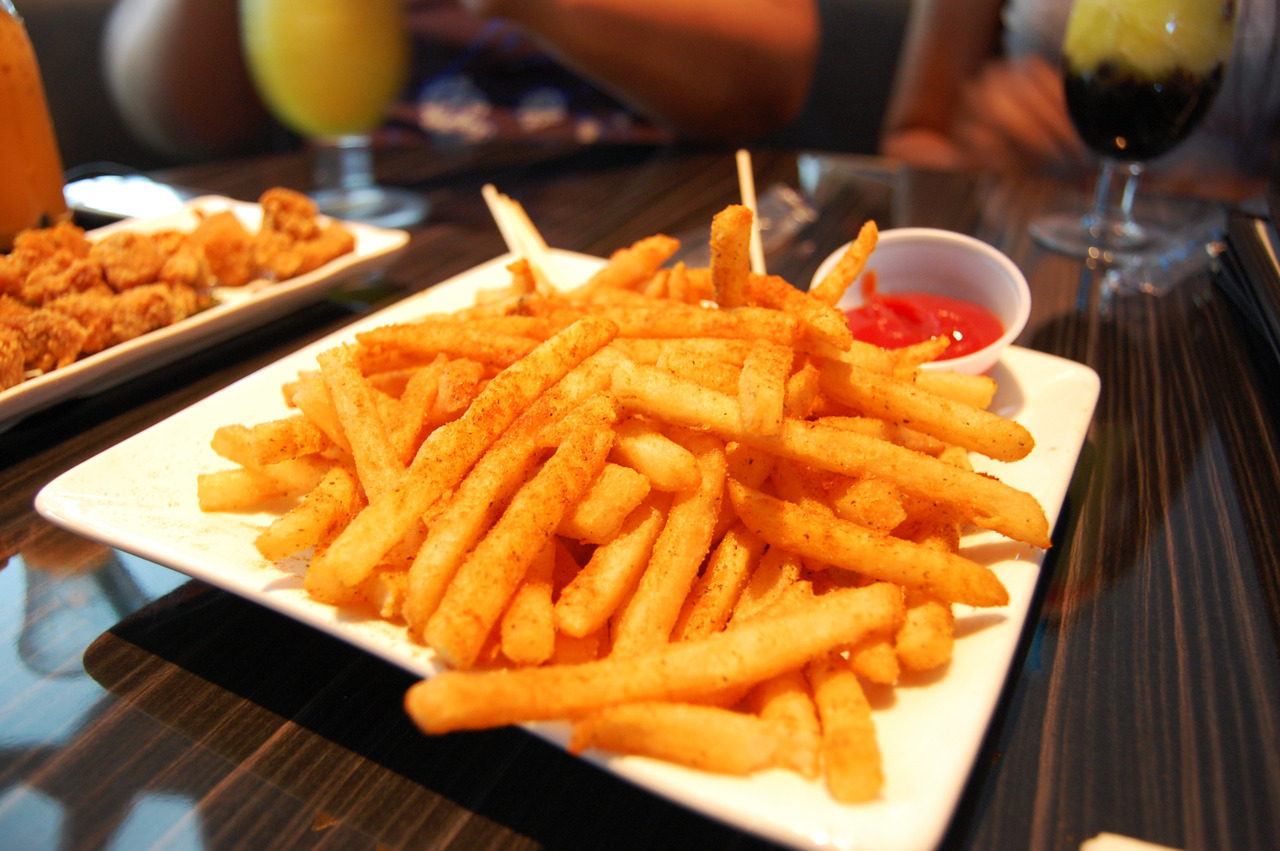 prettygirlfood:  Cajun fries @ Cha2O Submitted by: aintgotshittodo.tumblr.com