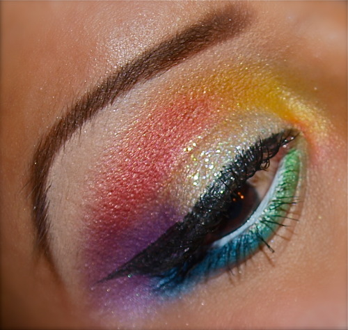 Rainbow Submission  Fairytales Forever  For more looks visit itstheeprincess.tumblr.com  Like my Facebook Page:  https://www.facebook.com/FairytalesForever Follow me on instagram! @makeupbyyenn