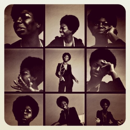 nefermaathotep:  I love me some Nina Simone…#FeelingGood (Taken with Instagram)  Nina!!! Because speaking your mind and living out loud is a certain key to happiness