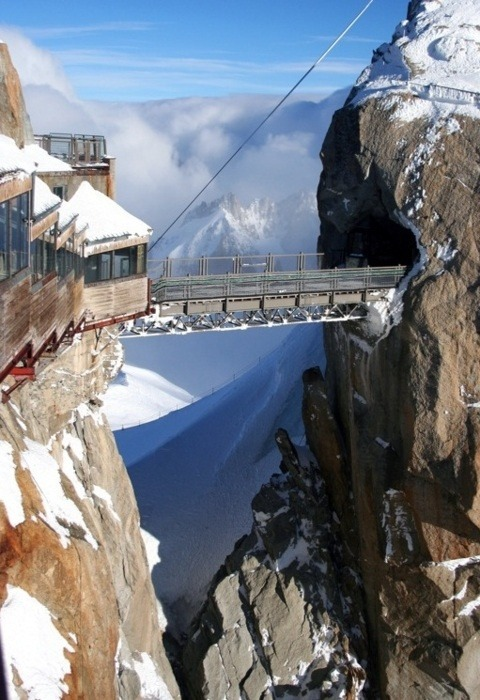 backtoroma:  du Midiin Chamonix, France, the highest point in Europe
