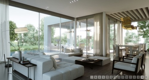 homedesigning:  3D Interior Design Inspiration