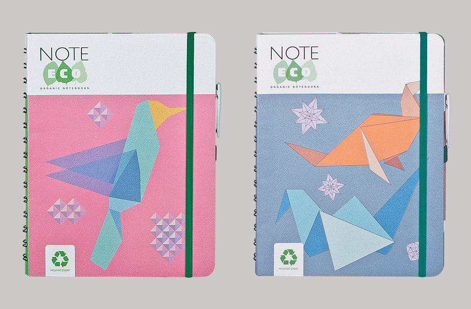 Meet Arwey's Good Friend: NoteEco - Organic Notebooks Every word you write on a NoteEco Notebook, which is produced using recycled paper and printed with herbal ink, helps to protect natural forest areas. Perfectly designed notebook collection includes wire-o notebooks, stitched and case bound notebooks with pockets, elastic closure and biodegradable pen. Starting today, you can shop NoteEco Notebooks directly from Arweystore.com