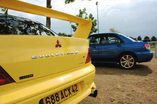 1ndignati0n:  Mitsubishi Lancer Evo VII by Lalogo.fr on Flickr.