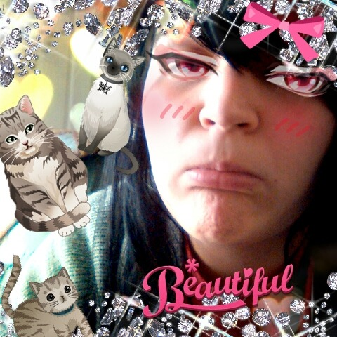 I am burdened with glorious Kawaii.