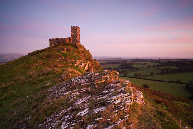 Brentor Church by peterspencer49 on Flickr.
