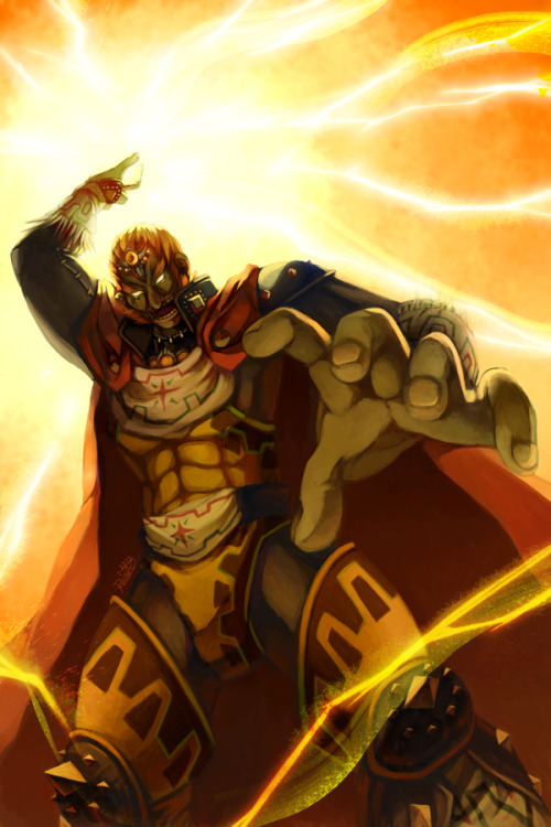 Ocarina of Time: Ganondorf  Created by Aly Sasagawa Tumblr | DeviantART | Twitter (Via: ballaquia)
