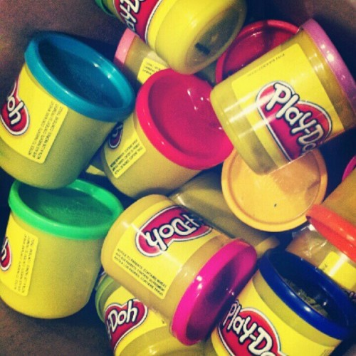 It's go time bitches #playdoh (Taken with Instagram)