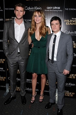 Seee??? Your so stout josh!!  Katniss is taller than you.. but ur still handsome and HOT!!!