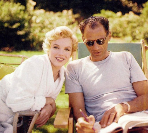 Marilyn and Arthur Miller.