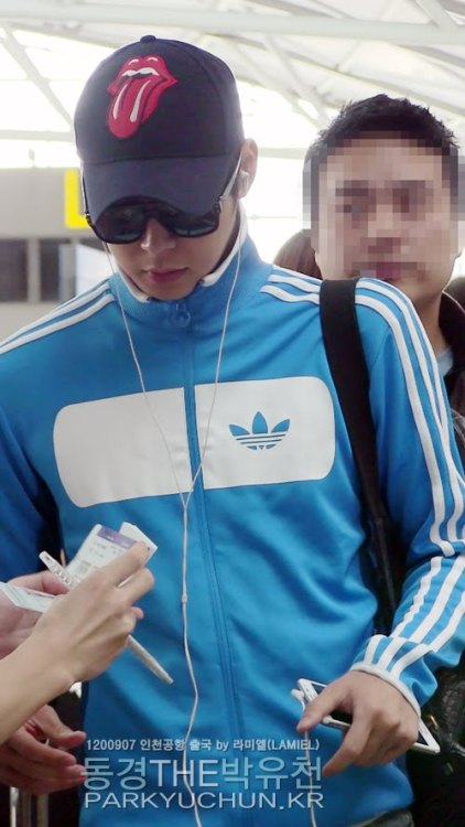Yoochun - Incheon Airport Credit: as tagged