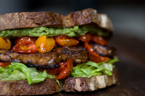 veganrecipecollection:  (via TLT Sandwich - Tempeh Lettuce Tomato - 101 Cookbooks)