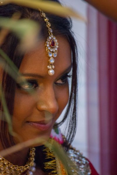Hindu wedding Make up and pic by me