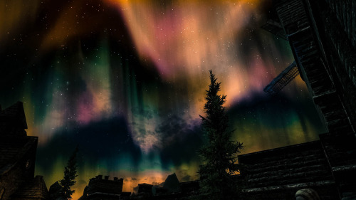 serene-flight:  Aurora in Solitude