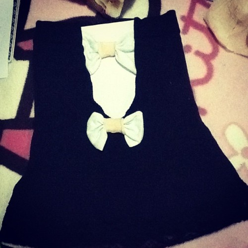#bow #kawaii /shantea mac inspired bow :) (Taken with Instagram)