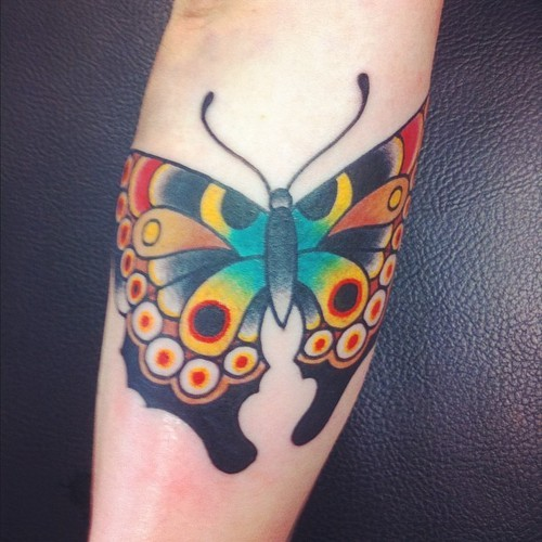 by ben rorke i love my butterfly, the black is so solid!
