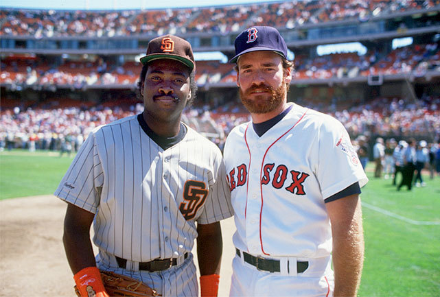Baseball's best hitters — San Diego's Tony Gwynn and Boston's Wade Boggs — pose together at the 1987 MLB All-Star Game in Oakland. Gwynn would finish the season with a .370 average with Boggs trailing just behind at .363. (Richard Mackson/SI) GALLERY: Baseball's 3,000 Hit Club
