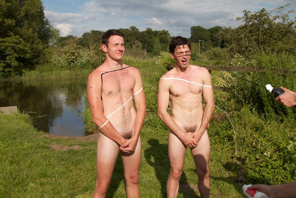 4/55 Two of the @naked_rowers.  Click pic for more info.  Collect all the pics and get a free gif!