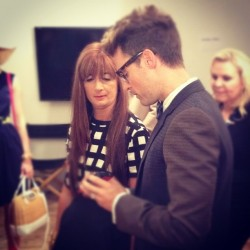 reviewing the final looks. @mrbradgoreski  (Taken with Instagram)