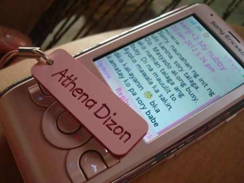 Athena's Cellphone ( bought by kenjie )