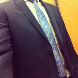 nathanielb:  New suit :D #dombagnato #suits #suitup  (Taken with Instagram)