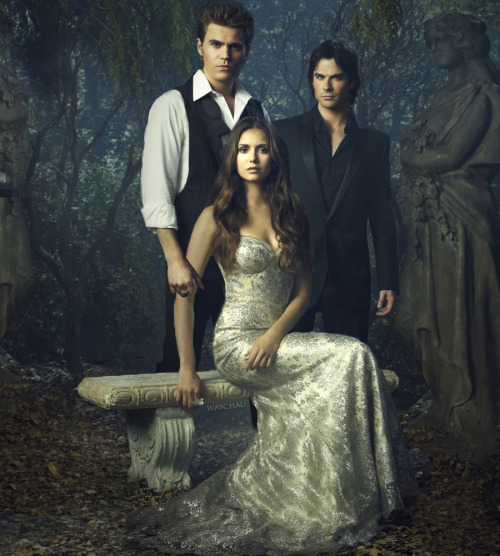 Here's our friend @Waschal 's take on the Season 4 TVD Promo Poster—everybody together like a portrait! http://waschal.blogspot.com/2012/09/promo-poster-season-4.html?spref=tw