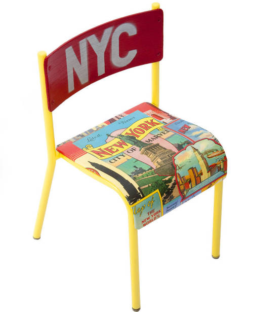 anndesignn:  New York City chair by Mama Lally
