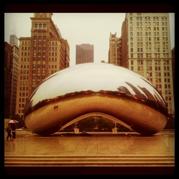 Chicago Bean-er.  Coffee anyone?  (Taken with Instagram)
