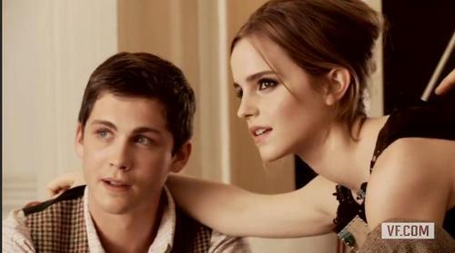 I just love the frames of Logan and Emma.
